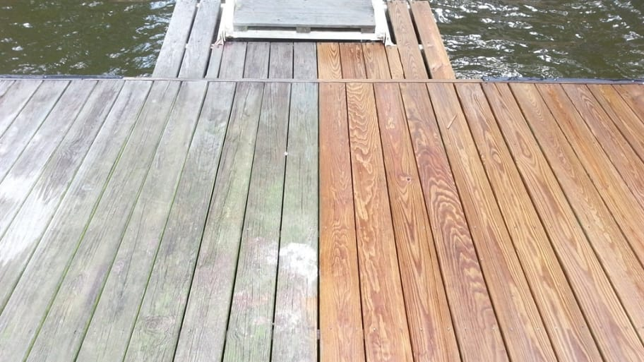 Pros and cons of diy pressure washing angie 39 s list for Wood stain pros and cons