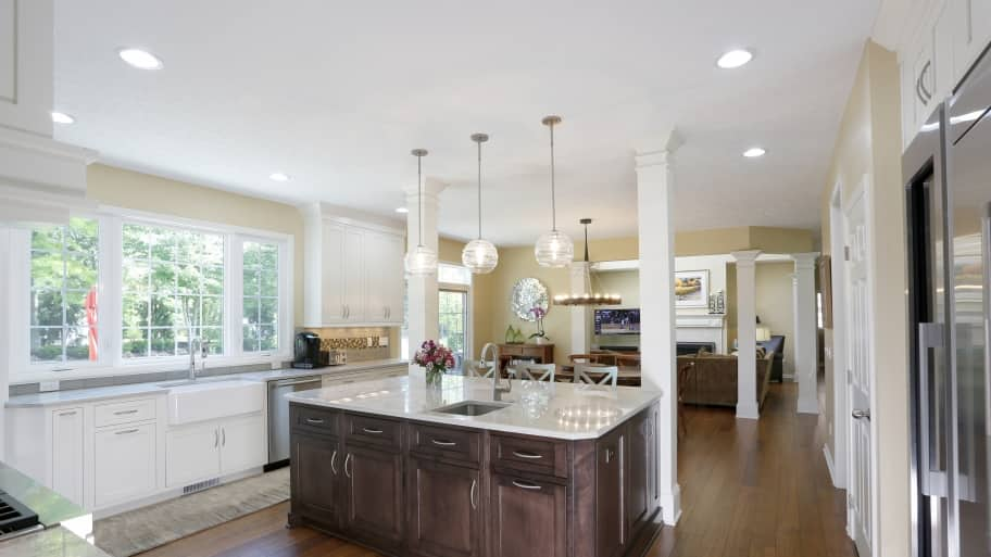 Dover Home Remodelers kitchen remodeling project