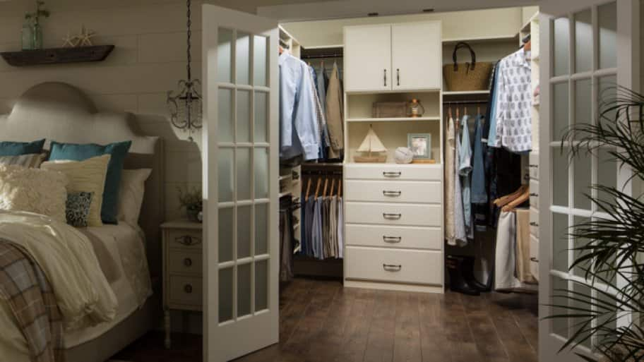 Master Bedroom Closet Walk In Layout