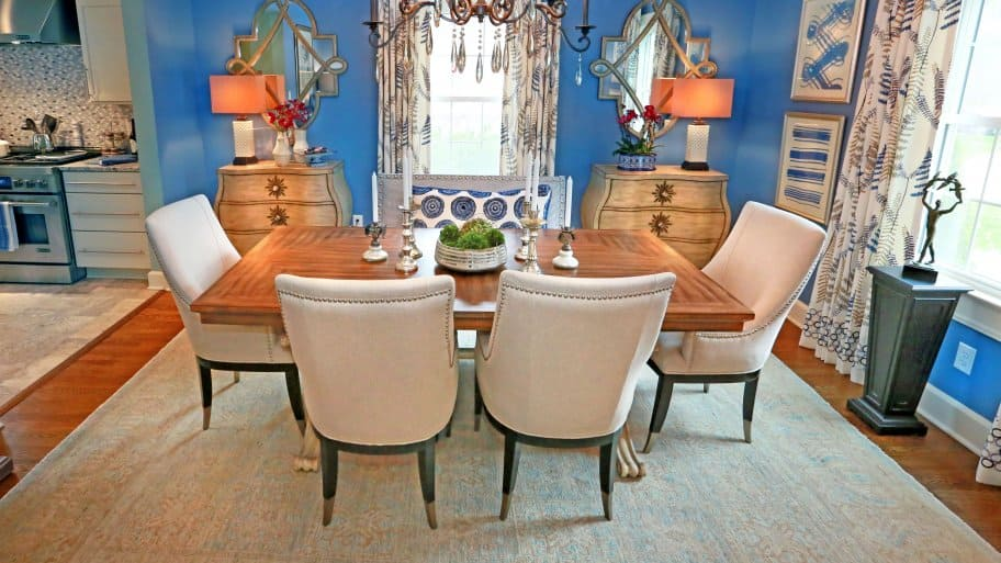 Choosing the best dining room area rug angie 39 s list for Best rugs for dining room
