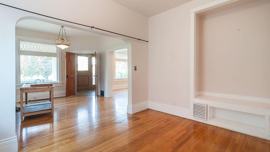 Living room pre-remodel