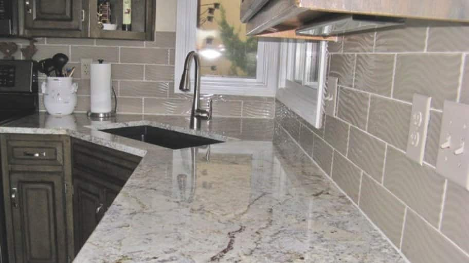Dean The Granite Guy Gave Penningtonu0027s Kitchen The Update She Desired By  Using Granite She Selected