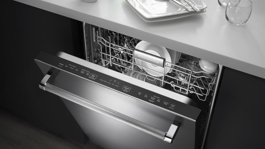 New Stainless Steel KitchenAid Dishwasher