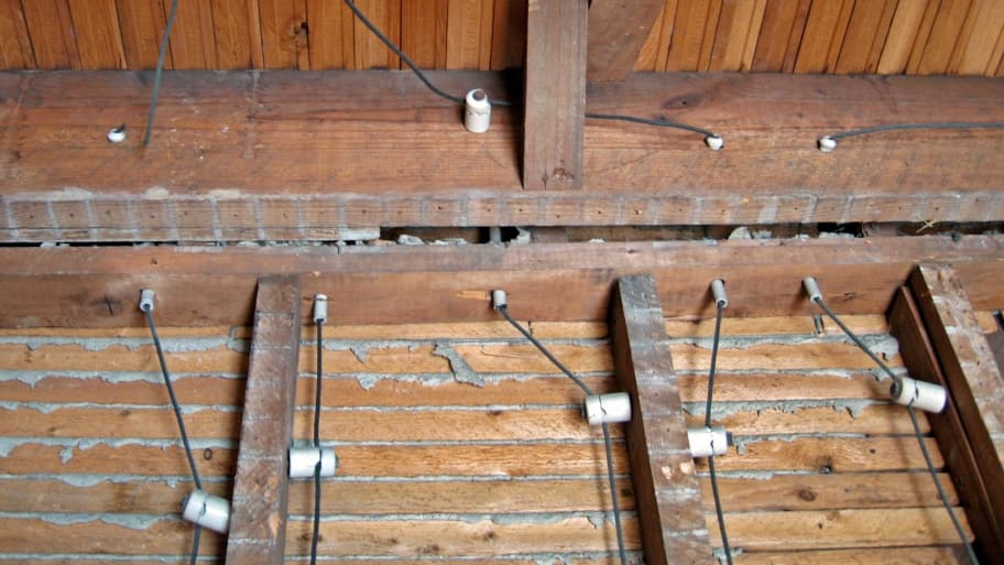 Is Knob And Tube Electrical Wiring Safe: 1950s Home Wiring At Outingpk.com