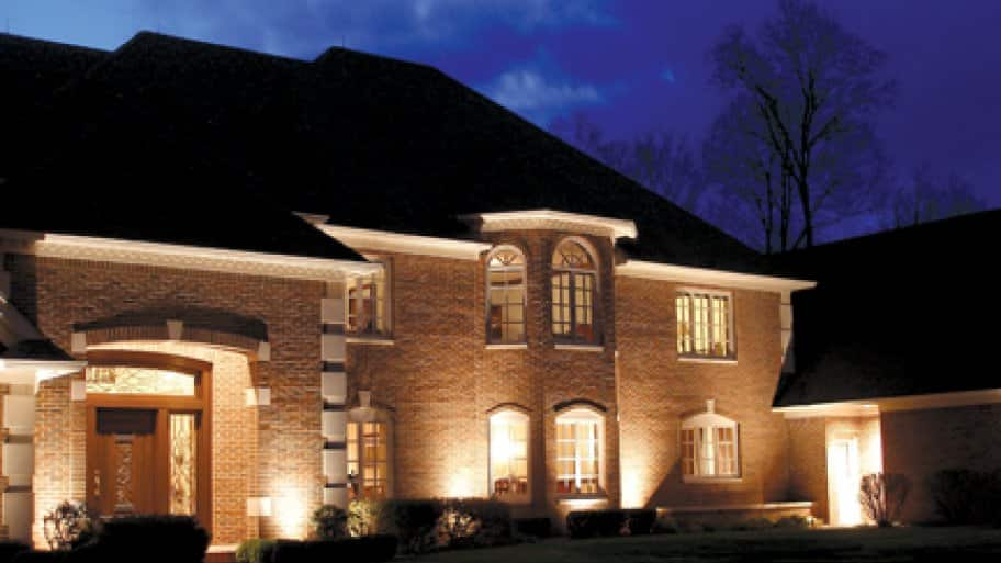 LED home exterior lighting