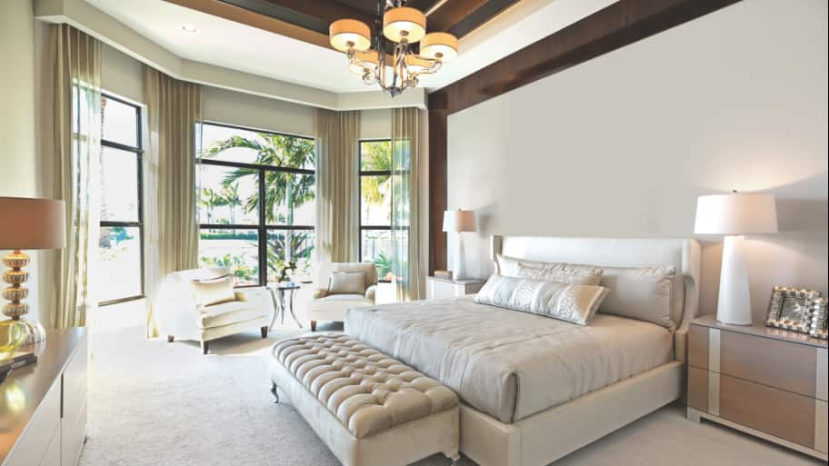 Charming Master Bedroom Retreat Part - 11: Master Bedroom With Sitting Area