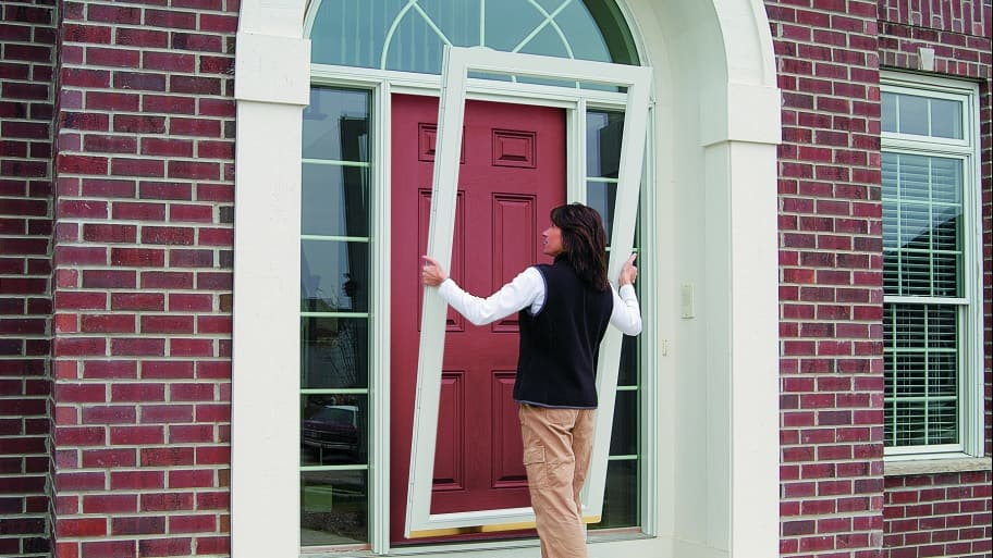 Storm Doors Protect Better than Screen Doors | Angie\'s List