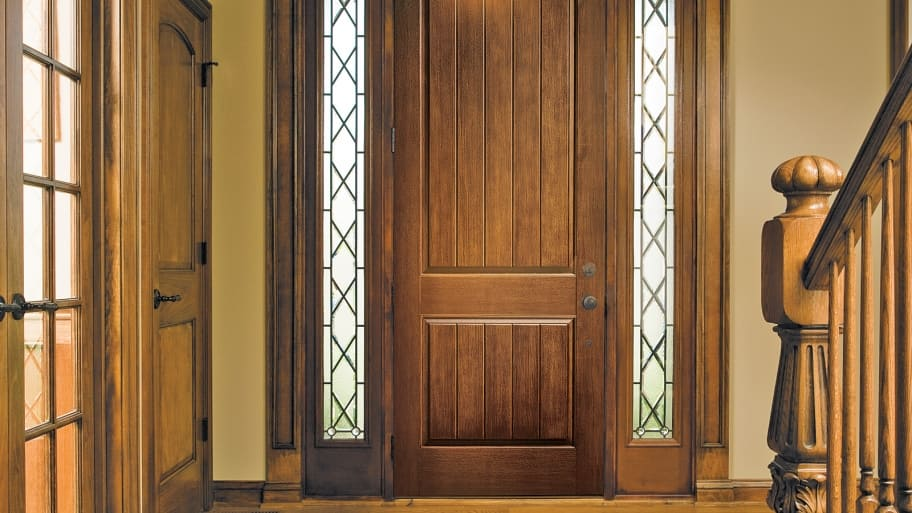 Pella Door Sidelights Exterior Door