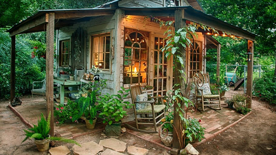 Delicieux Rustic Garden Shed
