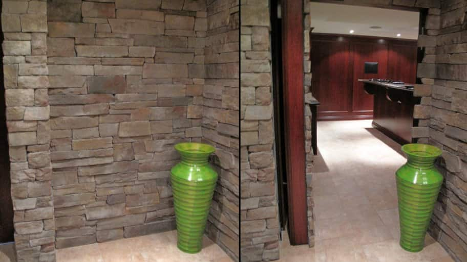 Stone Wall With Hidden Door