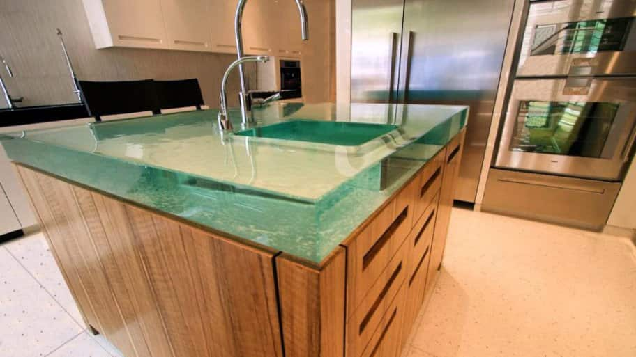 pros and cons of unique countertops angie 39 s list. Black Bedroom Furniture Sets. Home Design Ideas