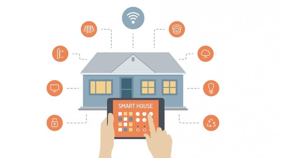 Many newer home security startup companies are building their systems around the Internet of Things. (Photo courtesy of Frontpoint Security)