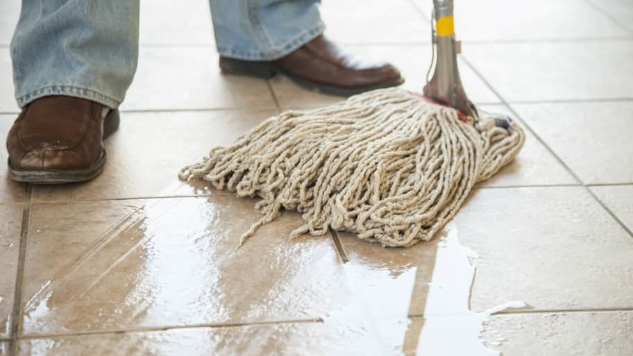 How To Keep A Tile Floor Clean Angies List - Easiest way to mop tile floors
