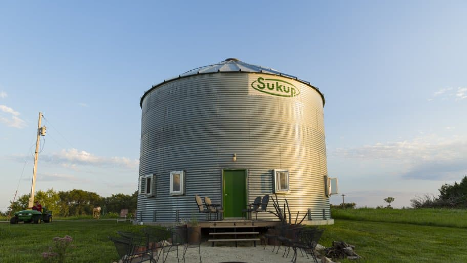 Couple Creates Grain Bin Silo Home | Angie's List