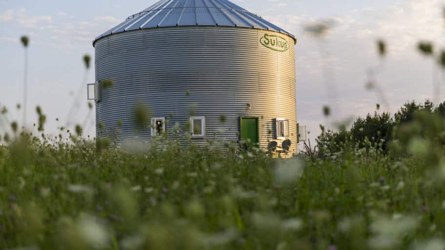 Couple Creates Grain Bin Silo Home | Angie's List