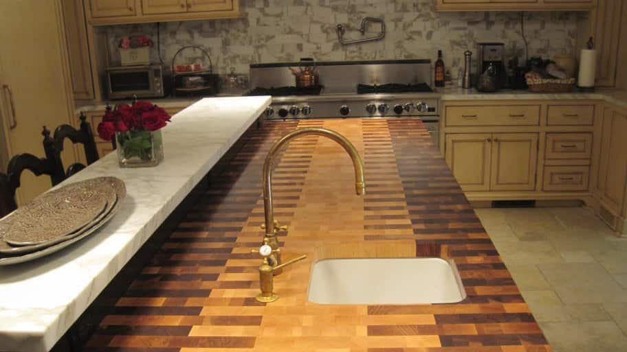 Cost Of Cork Countertops How Much Do Butcher Block Countertops Cost Angies  List