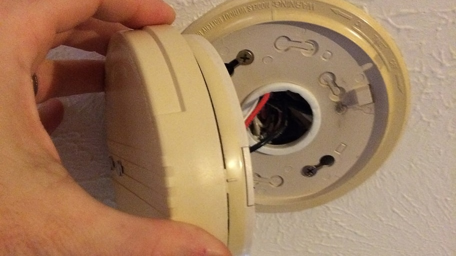 how often should i replace hard wired smoke detectors. Black Bedroom Furniture Sets. Home Design Ideas