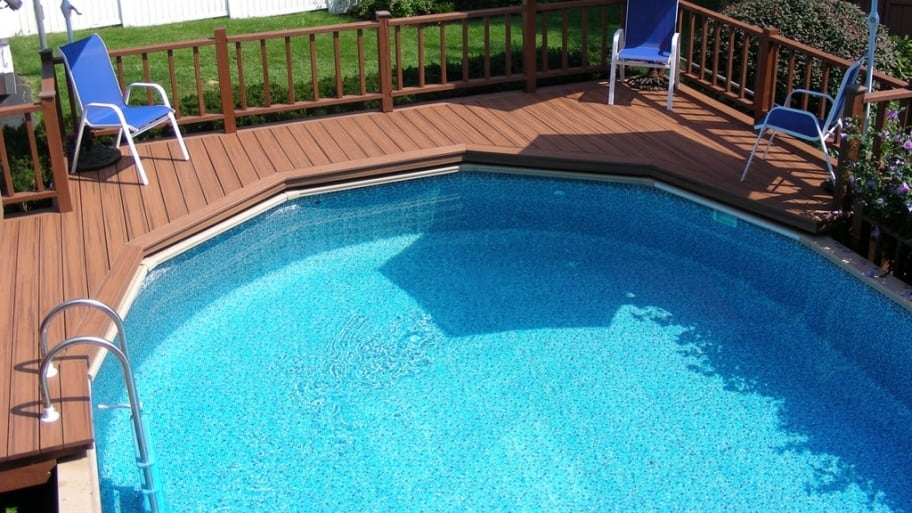 Above ground pool vs in ground pool angie 39 s list - Largest above ground swimming pool ...