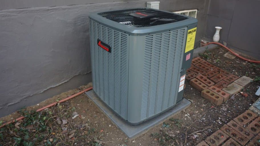 Covering your HVAC system's outdoor unit when the system is not in use may cause potential problems. (Photo courtesy of Angie's List member Michael H. of Silver Spring, Md.)