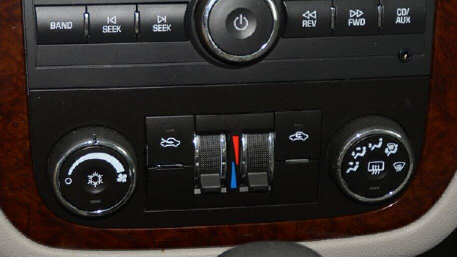 car console for a/c system