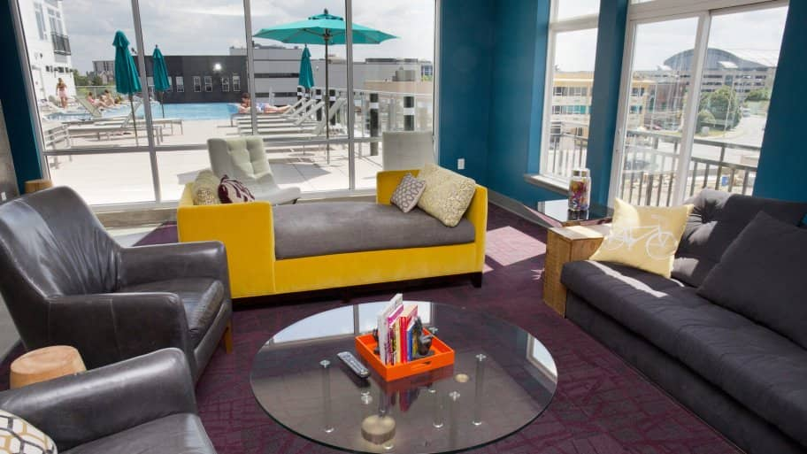 Artistry apartments in downtown Indianapolis