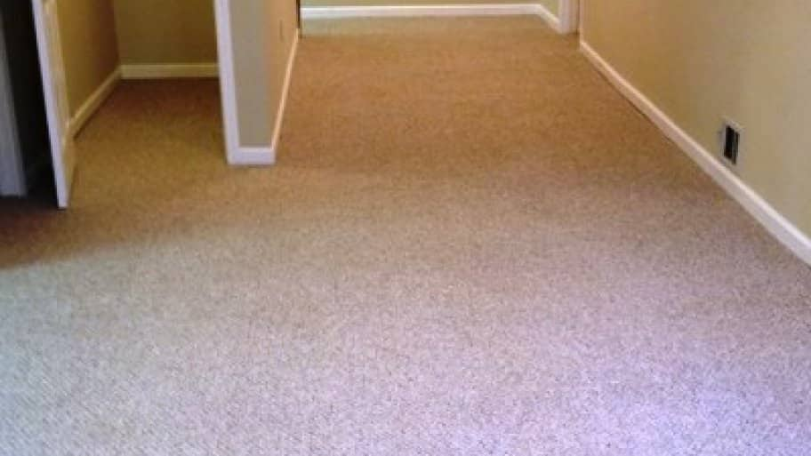 "This member hired a highly rated company to clean four rooms and ""significant stains"" on her Berber carpet. (Photo courtesy of Angie's List member Jody F. of Roswell, Georgia)"