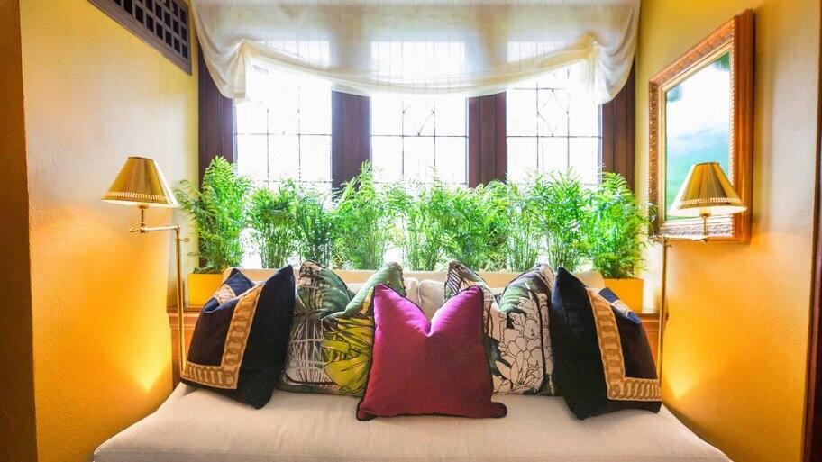 2017 Decorators' Show House upstairs nook by A Lantz Design