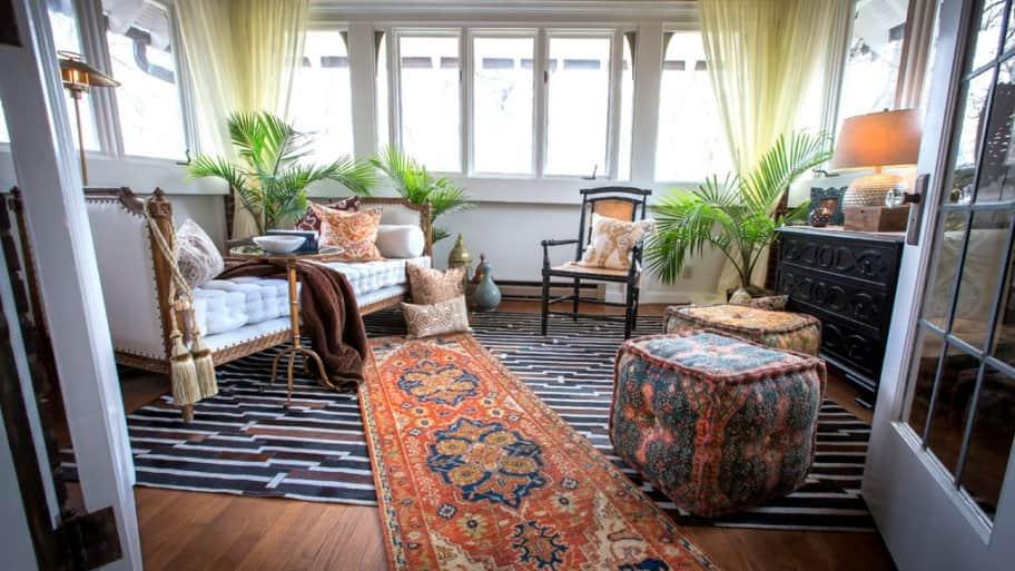 2017 Decorators' Show House master sitting room by Thomas & Jayne Interior Design