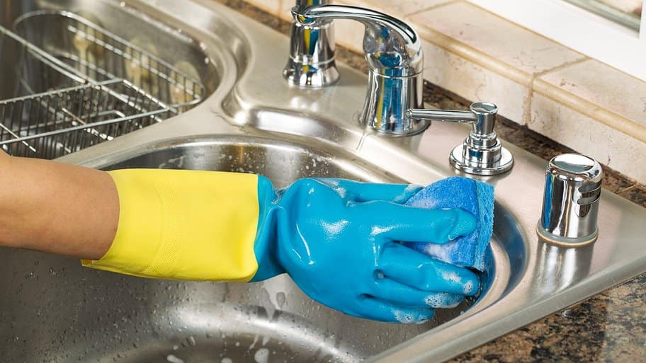 how to clean your kitchen sink angie s list rh angieslist com kitchen sink cleaning tips in tamil kitchen sink cleaning in tamil