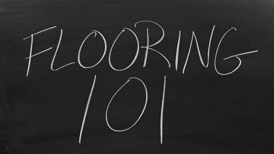 Flooring 101 Chalkboard