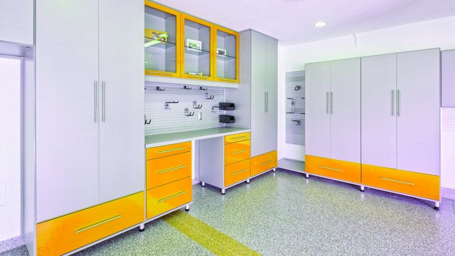 Garage Cabinets in Garage Remodel (Photo by Getty Images/iStockphoto)
