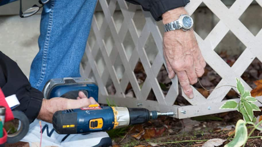 Asking your neighbors about their experiences can prove to be a good first step when hiring a handyman, Dewey says. (Photo courtesy of Kathy Omen)
