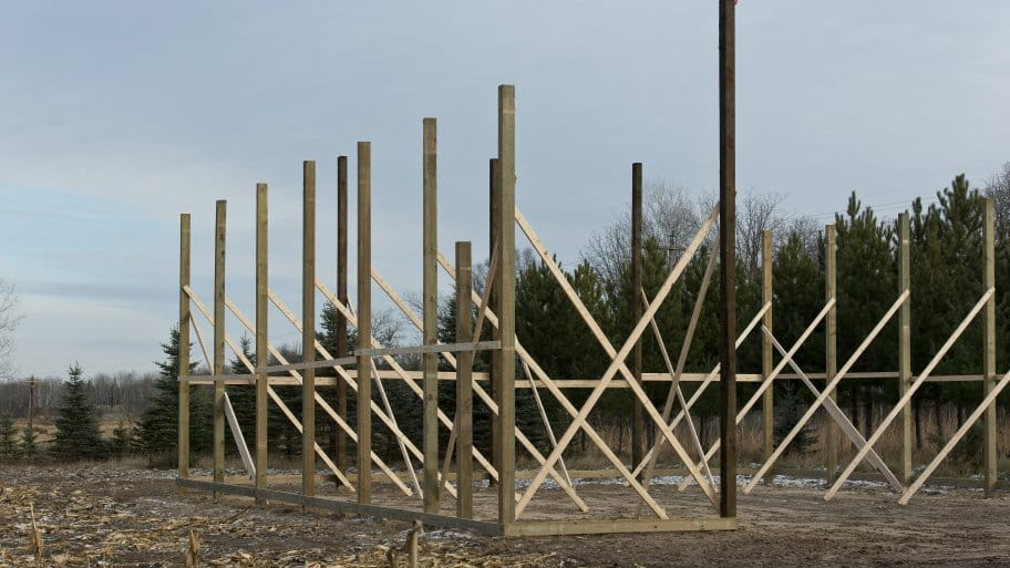 How much does a new pole barn cost in your area?