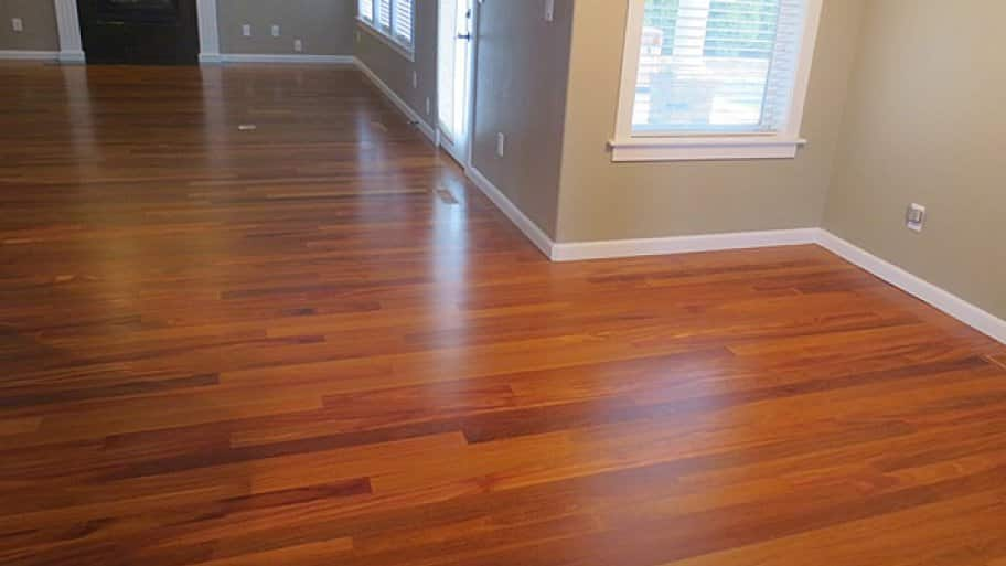 Removing the furniture from the room where the new flooring is to be installed can save you money on labor costs, says Robinson. (Photo courtesy of Angie's List member Carly P. of Medford, Ore.)