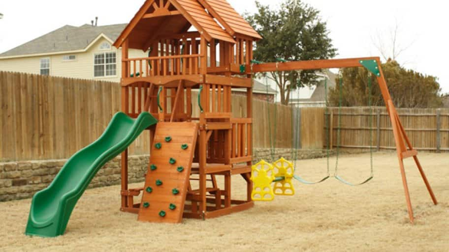 playset, swingset