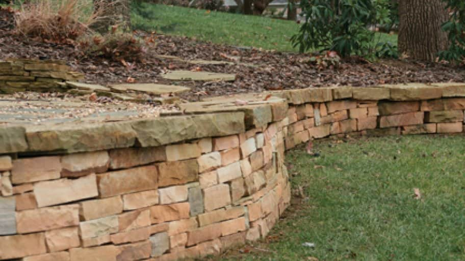A project's budget parameters typically define the choice of materials for garden walls.