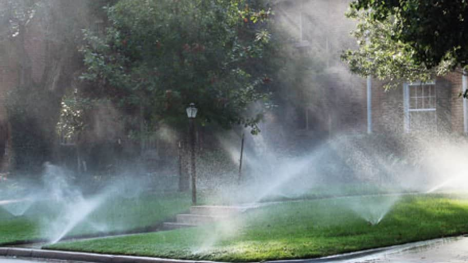 Outdoor water use can be a substantial percentage of a your water bill.