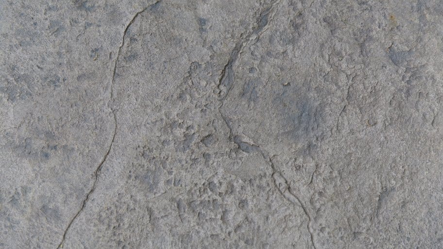 stamped concrete up close