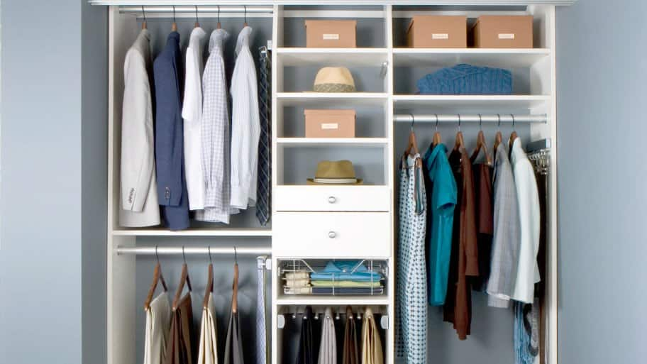 Treat Your Itsy Bitsy Closet Like A Secret Bonus Room By Taking The Time To Maximize Every Inch Of Space
