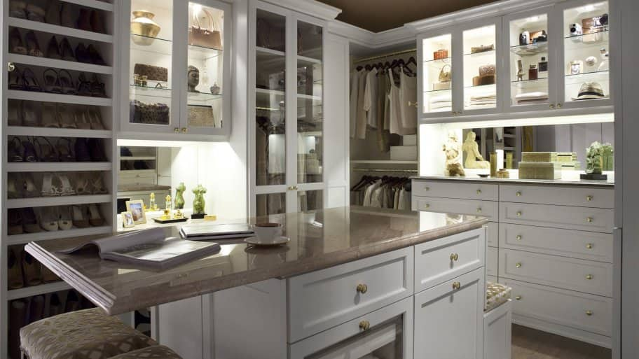 Closet By California Closets With Island