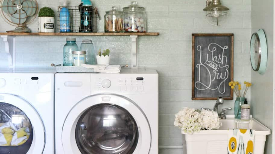 A spacious laundry room on the main living floor or the second floor near the bedrooms is highly desirable with home buyers. (Photo courtesy of Kelli Mullins)