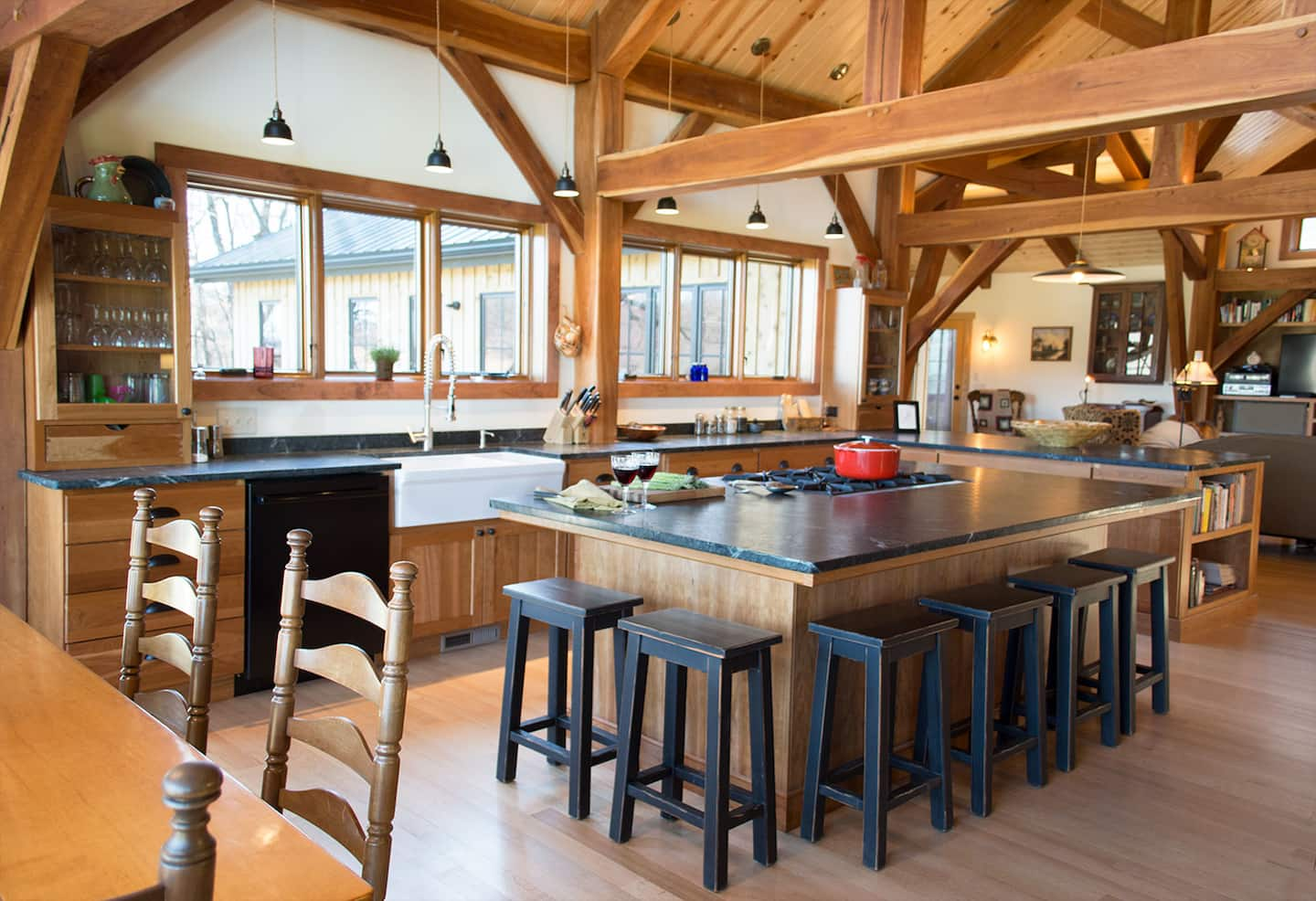 timber frame home interiors.  How Much Do Timber Frame Homes Cost to Build Angie s List