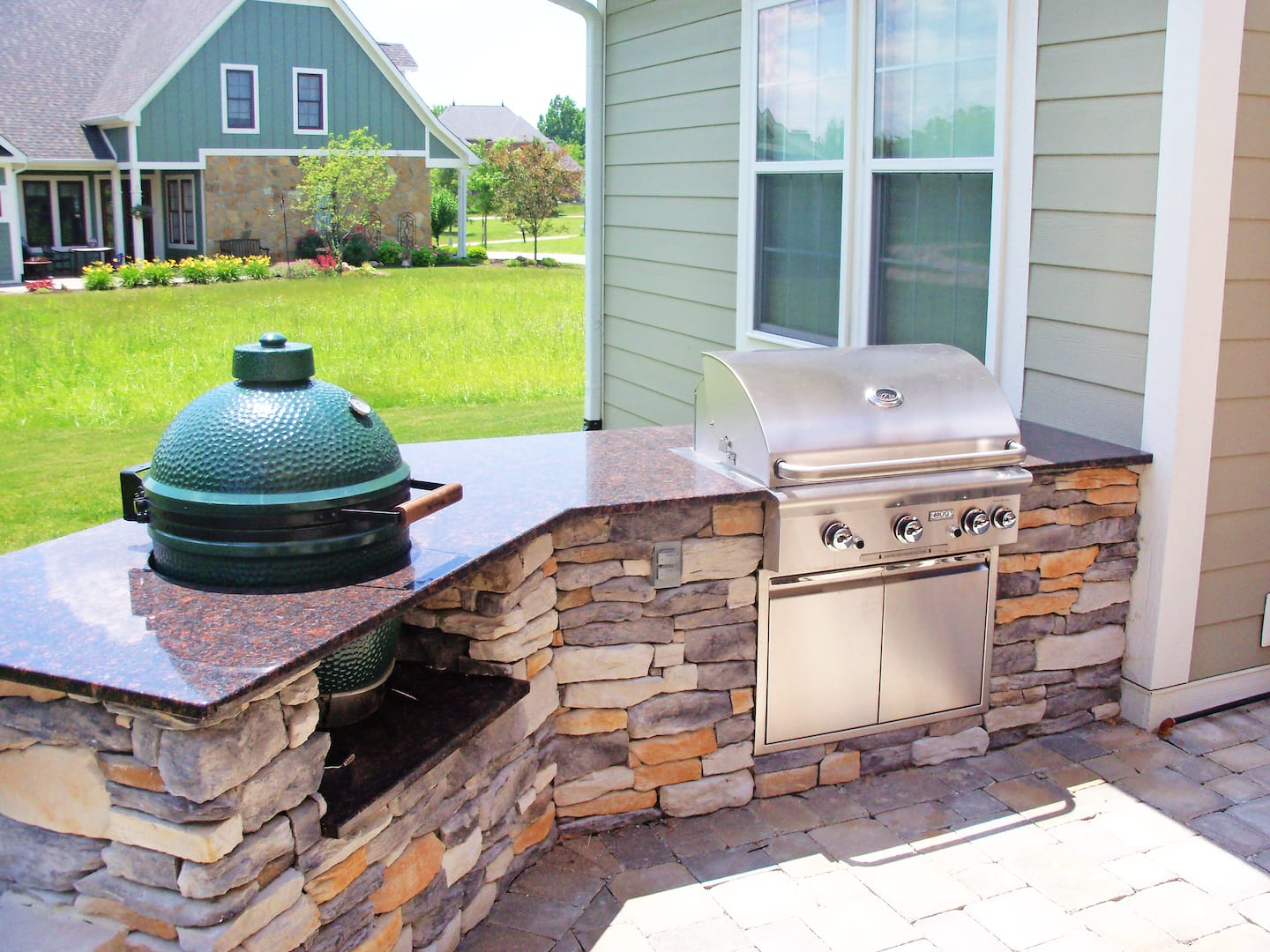 Outdoor Kitchen Roof How Much Does An Outdoor Kitchen Cost Angies List