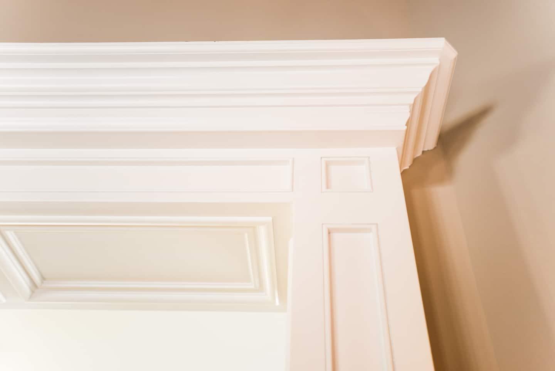 how to clean wood trim around windows