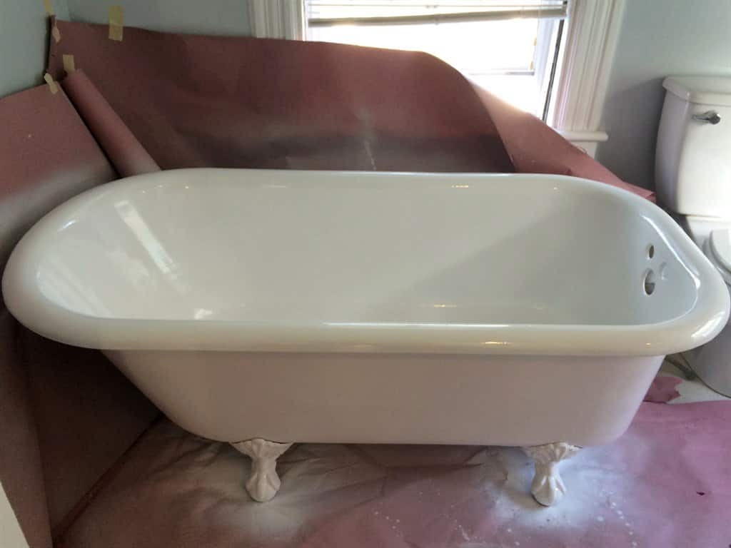 Pretty Paint For A Bathtub Tiny Bathtub Refinishing Service Regular Companies That Refinish Bathtubs Bathtub Repair Youthful Bathtub Resurfacing Cost PurpleTub Glaze Bathtub Liners And Refinishing | Angie\u0027s List