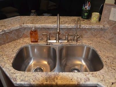 sink with new fixtures