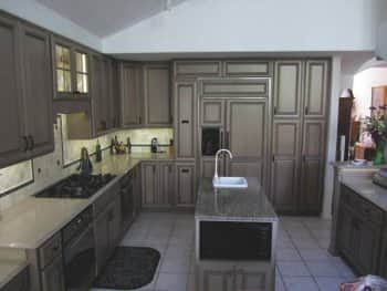 Cabinet Refacing Transforms Drab Kitchen Cabinets Angie