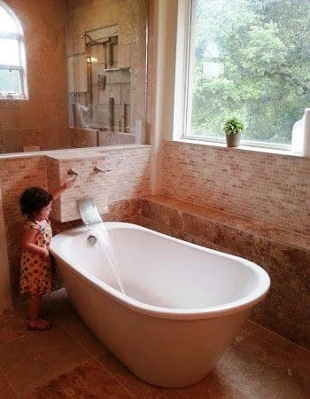 Fixing up the bathroom in a florida fixer upper angie 39 s list for European style bathroom