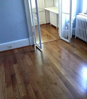Hardwood floors in D.C.'s Capitol Hill neighborhood