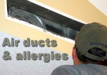Air duct graphic